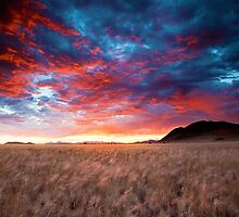 Fiery Sky  by Jill Fisher