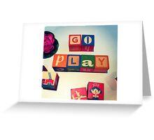 Go Play Greeting Card