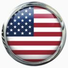 United States Flag by 3Dflags