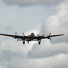 Avro Lancaster Bomber WW2 by John Dunbar