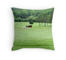 Golf Throw Pillow