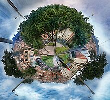 The Big Tree, The Little Planet. by Maria  Gonzalez
