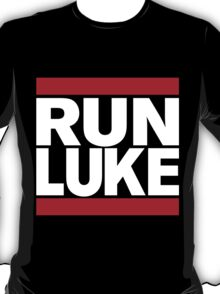 RUN LUKE (White font) T-Shirt