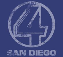 Channel 4 San Diego - Faded & Distressed by TGIGreeny