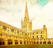 Norwich Cathedral by Nicholas Jermy