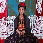Frida Fabric Art by signaturelaurel