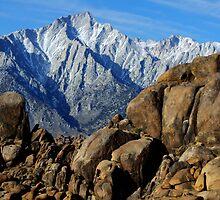 Mount Whitney Splendor In Stone by Bob Christopher