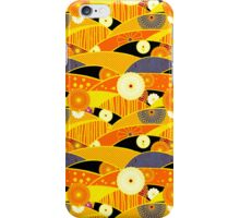 Chiyogami Tangerine & Blueberry [iPhone / iPod Case and Print] iPhone Case/Skin
