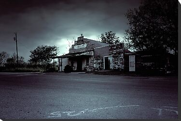 The Texas Chainsaw Massacre  - Cele General Store #10 by Trish Mistric