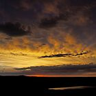 Sunset and Storm -  The Ending by Don Marshall
