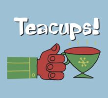 Teacups! a charming cartoon drawing honoring the humble mystical teacup by DiabolickalPLAN