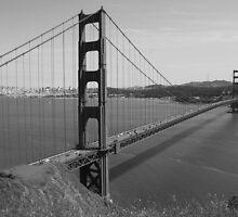 #1092  Golden Gate Bridge In San Francisco by MyInnereyeMike