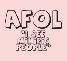 AFOL 'I See Minifig People' by Customize My Minifig by ChilleeW