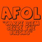 AFOL &#x27;Carpe Diem Seize the Bricks&#x27; by Customize My Minifig by ChilleeW