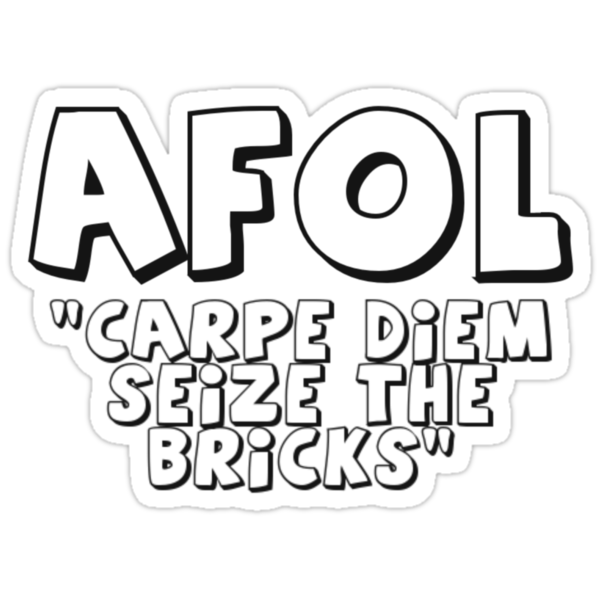 AFOL 'Carpe Diem Seize the Bricks' by Customize My Minifig by ChilleeW