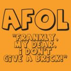 AFOL 'Frankly my Dear, I Don't Give a Brick' by Customize My Minifig by ChilleeW