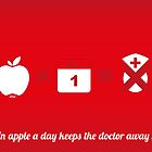 An apple a day keeps the doctor away by jdshock