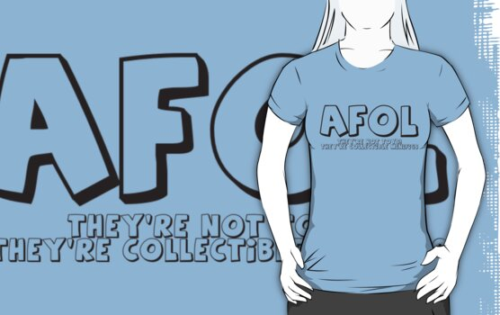 AFOL 'They're Not Toys, They're Collectible Minifigs'  T-Shirt by Customize My Minifig by ChilleeW