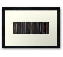 Moviebarcode: Scott Pilgrim vs. the World (2010) Framed Print