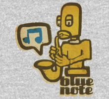 blue note remixed T-Shirt