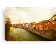 River Wensum Canvas Print