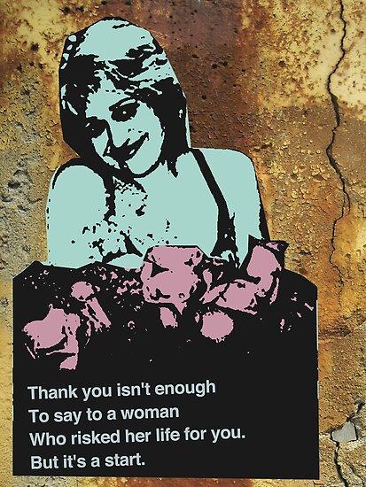 Spoils of War: Ode to a Refusenik Mother 1 by urbanpopartist