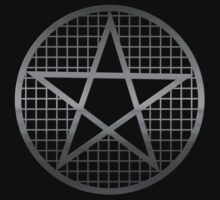 Metal Pentagram Occult / Pagan / Wicca Symbol by Buddhuu