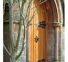 St Augustine's Door Photographic Print