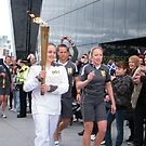 Olympic Torch, Riverside Museum, Glasgow by ElsT