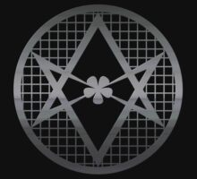 Metal Crowley Occult Symbol by Buddhuu