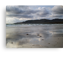 Dooey Strand and Crohy Head Canvas Print