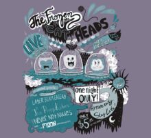 Music T-Shirts: The Frozen Cat Heads Live! by Nichole Lillian