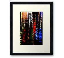 Water Colours III Framed Print