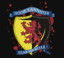 I am Lannister ! Hear me roar ! by Octochimp Designs
