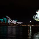 Hanging Light & the Sails by Alfredo Estrella