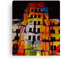 Crumbling Blocks Canvas Print