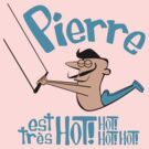 Pierre est tres HOT! cartoon drawing of daring Frenchman with handsome mustache by diabolickal plan