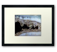 Dragon's Teeth Framed Print