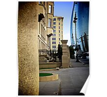 Streetscape, Baku, Azerbaijan Poster
