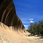 Wave Rock Australia by Laurence Norah