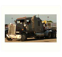 Truck 7942 Green Art Print