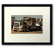Truck 7949 Green Framed Print