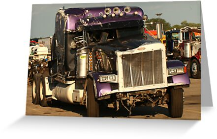 Truck 7950 Purple by Thomas Murphy