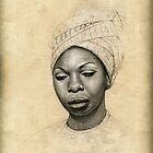 Nina Simone by Markus Kunschak