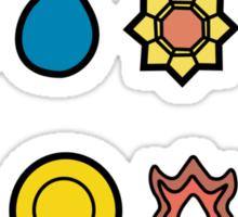 First Generation Pokemon Master Sticker