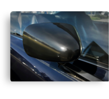 side mirror Canvas Print