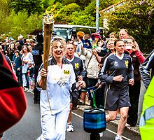 Olympic Torchbearer 44 by Paul Howarth