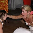 Bride and Step Daughter  by ElizabethBeaty