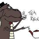 TEA REX COLOUR by Sarah Jane Jackson