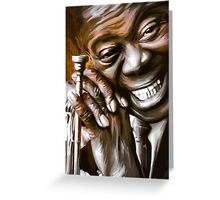 LOUIS ARMSTRONG.  Greeting Card